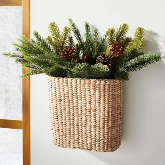 "15"" Artificial Pine Cone Arrangement - Threshold"